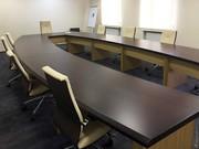 Конференц столы, кабинеты руководителя, мебель для офиса,  ресепшн на зак